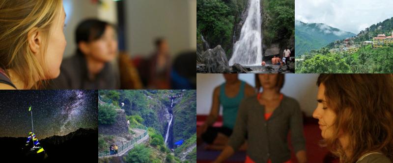 Bhagsu-waterfall-Dalai-Lam